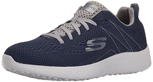 Wind Sport Sneaker Gray Burst Men's Skechers Navy Energy Second YZwdXZqH