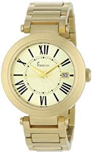 Freelook Women's HA1234GM-3 Cortina Roman Numeral Matte Gold  Watch