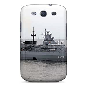 Defender Case With Nice Appearance (german Frigate Bayern) For Galaxy S3