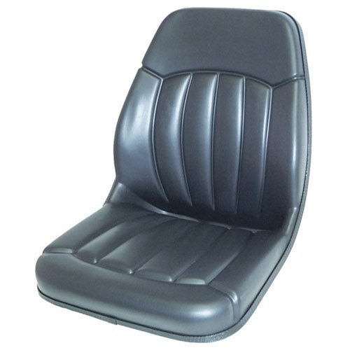 Bucket Seat Vinyl Black Case Bobcat Ford Mustang Gehl Daewoo New Holland Massey Ferguson Caterpillar JCB 430 555 420 580B 580 655 550 480 480C 590 455 580L 585 586 1845 580K 580C 1840 1845C 580Super L by All States Ag Parts