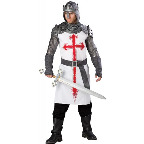 [Crusader Costume - X-Large - Chest Size 46-48] (Joan Of Arc Costume Halloween)