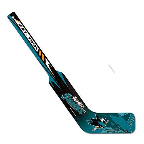 (WinCraft NHL San Jose Sharks WCR73144011 Hockey Goalie Stick, 21