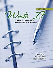 write it review a process approach to college essays with readings 4th edition