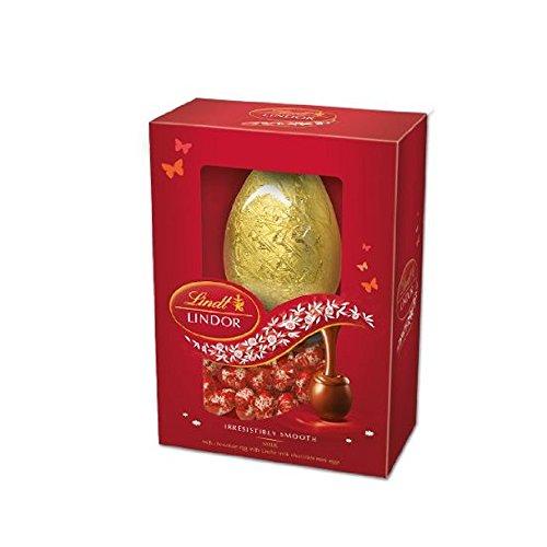 Lindt - Lindor - Milk Easter Egg with Milk Eggs - 215g