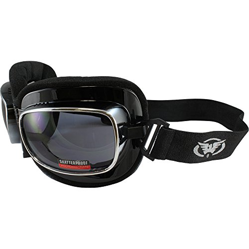 Steampunk and Mad Max Style Goggles. Big and Padded. Chinese or Japanese Fighter Pilot Look.