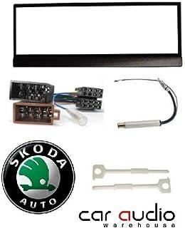 skoda fabia cd radio stereo wiring harness adapter lead amazon co rh amazon co uk skoda felicia radio wiring diagram skoda radio wiring diagram