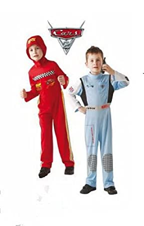 Disney Cars Lightning Mcqueen + Finn Mcmissile Costume Set Age 7-8  sc 1 st  Amazon UK & Disney Cars Lightning Mcqueen + Finn Mcmissile Costume Set Age 7-8 ...
