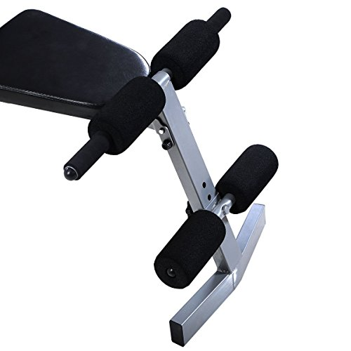 Goplus Incline Sit Up Bench Foldable Slant Board Ab Crunch Board Adjustable Workout Fitness Equipment
