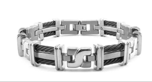 mens-titanium-black-cable-125mm-link-bracelet-85