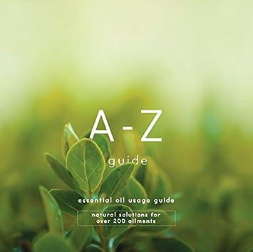 A-Z - Guía de uso de aceites esenciales (pack de 1): Amazon.es ...