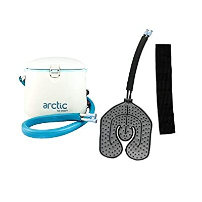 Image of Cryotherapy - Circulating Personal Cold Water Therapy Ice Machine by Arctic Ice –with Universal Pad for Knee, Elbow, Shoulder, Back Pain, Swelling, Sprains, Inflammation, Injuries, Post Surgery Care Cold Packs