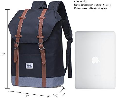 Lightweight Outdoor Backpack KAUKKO Travel Casual Rucksack Laptop Daypack for 15