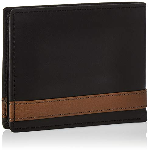 Fossil Men's Quinn Leather Bifold Flip ID Wallet 2