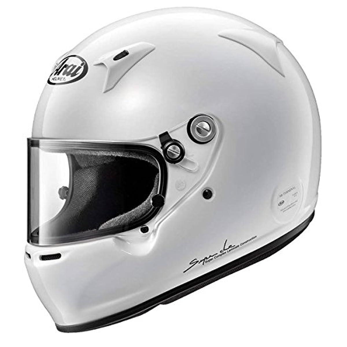 [해외] 아라이(ARAI 아라이 헬멧) 헬멧【GP-5W】(8859실리즈) 클로즈드 카 전용(4 큐빅스톤아가 경기용) 54㎝(XS) GP-5W-8859-XS