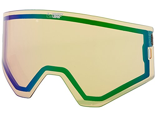 Spy Ace Snow Goggle Replacement Lens Happy Yellow with Lucid - Replacement Goggles Lenses Spy