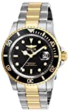 Invicta Men's Pro Diver Quartz Watch with Stainless Steel Strap, Two Tone, 20 (Model: 26973)
