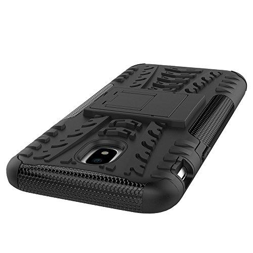 OFU®Para Samsung Galaxy J5 (2017) 5.2 Funda, Híbrido caja de la armadura para el teléfono Samsung Galaxy J5 (2017) 5.2 resistente a prueba de golpes contra la lucha de viaje accesorios esenciales de púrpura