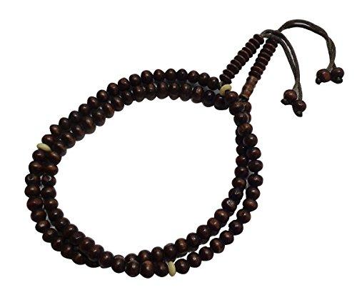 tasbeeh sebha tasbih sibha subha rosary masbaha muslim islamic islam worry beads prayer 99 beads salah salat namaz allah zikr Wooden dhikr (Muslim Worry Beads)
