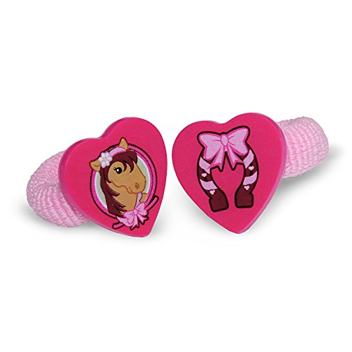 (BirthdayExpress Pink Cowgirl Party Supplies - Horse Terries)