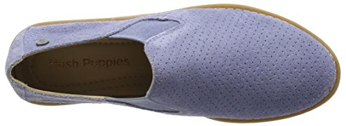 Hush Puppies Vrouwen Analise Slim Flat Poeder Blue Suede Perf