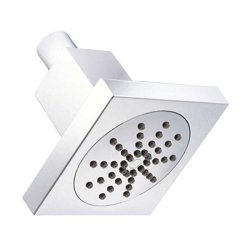 4in Downpour Showerhead (Danze D460062 Square Single Function Showerhead, 1.75 GPM, 4-Inch, Chrome)