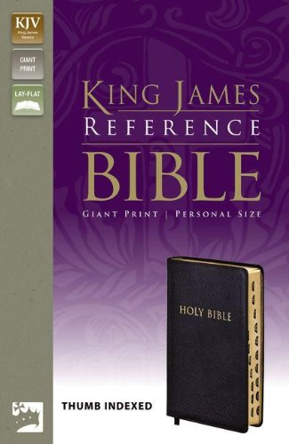 KJV, Reference Bible, Giant Print, Personal Size, Bonded Leather, Black, Indexed, Red Letter Edition ebook