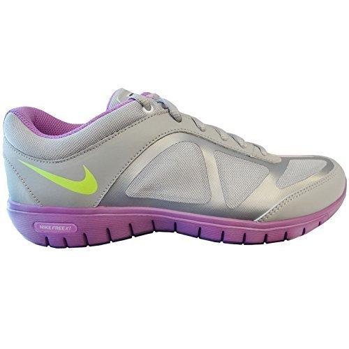 Nike Women Free XT flessibile Fit/451901-003 colore: Wolf Grey/Purple