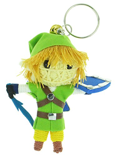Link Legend of Zelda Skyward Sword Voodoo String Doll Keyring Keychain