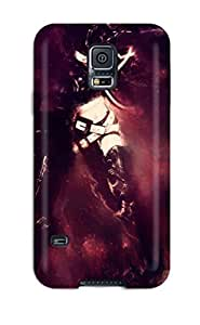 For SarahTownsend Iphone Protective Case, High Quality For Case Samsung Note 4 Cover Black Rock Shooter Anime Manga Kuroi Mato Skin