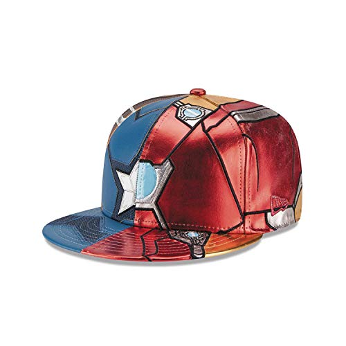 New Era 59Fifty Character Split Armor Captain America Civil War Fitted Cap (7 1/4)