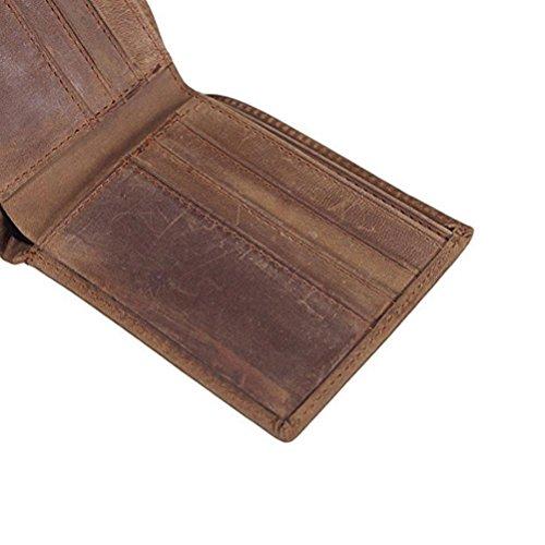 2x11 Sottile Portafoglio Pelle 5cm 1 Brown Vera T 5x9 Super Gtuko b H In Uomo Bbo X xvqHnwgTg