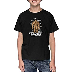 Haase Unlimited How to Identify Bigfoot – Sasquatch Myth Youth T-Shirt