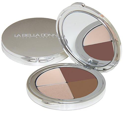 La Bella Donna Complete Brow Kit Quad Compact - - Bella Frames