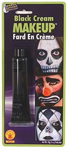 Black Cream Tube Makeup
