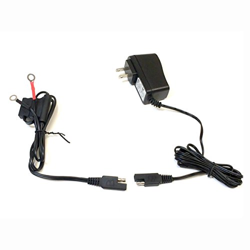 Motorcycle Battery Charger 12v 500MA 0.5A Lead Acid Battery With LED Charging Indicator