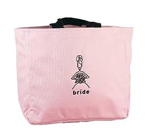 Hortense B. Hewitt Wedding Accessories Bride's Pink Tote Bag