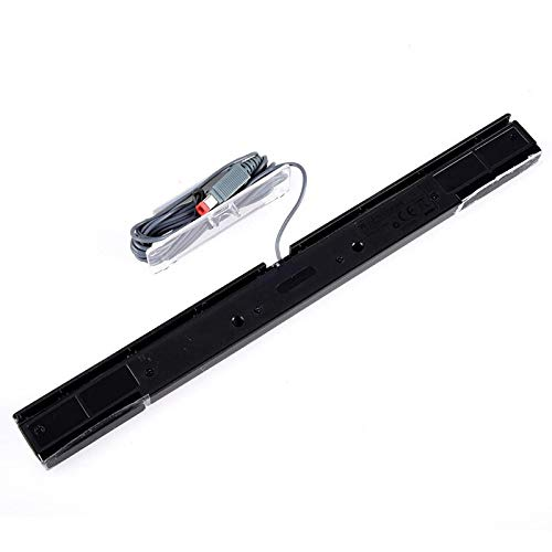 Calvas Control Infrared TV Ray Wired Remote Sensor Bar Receiver For WII For Wii Games Wired Sensor Signal Receiver WII Wired Sensor by GIMAX