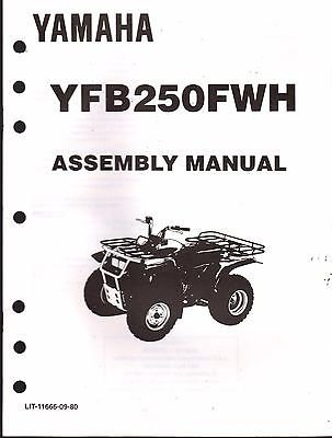 1996 YAMAHA ATV 4 WHEELER YFB250FWH ASSEMBLY SERVICE for sale  Delivered anywhere in USA