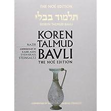 Koren Talmud Bavli No, Vol 19: Nazir: Hebrew/English, Large, Color Edition