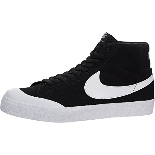 NIKE SB Blazer Zoom MID XT Mens Skateboarding-Shoes 876872-019_10.5 - Black/White/Gum Light Brown (Nike Blazer)