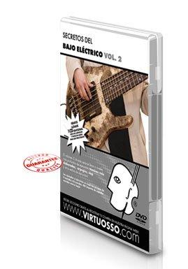 Virtuosso Electric Bass Method Vol.2 (Curso De Bajo Eléctrico Vol.2) SPANISH ONLY by Virtuosso