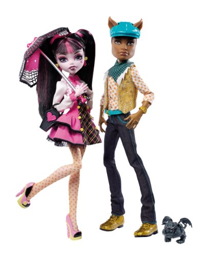 Monster High Draculaura And Clawd Wolf Doll -