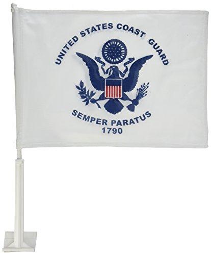 Online Stores Coast Guard Car Flag - Coast Guard Car Flag