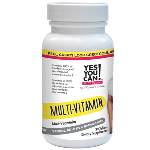 Diet Plan Multi-vitamin for Women and Men with B6,