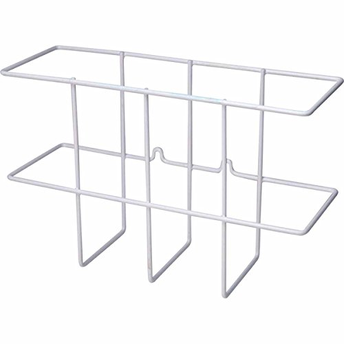 Zing Green Products 7199-WHITE Binder Holder, Wire Wall Rack, Hardware Included, White by Zing Green Products