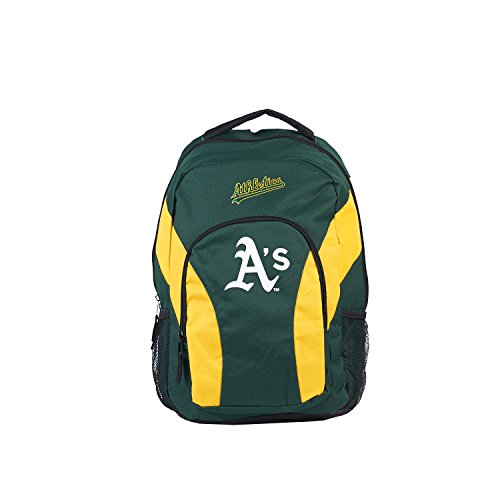 MLB Oakland A's DraftDay Backpack, 18-Inch, - Oakland Athletics Green