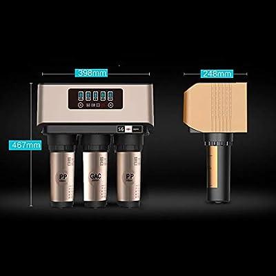 wei Filtro De Agua Agua Purificador Sistema de filtración de Agua ...