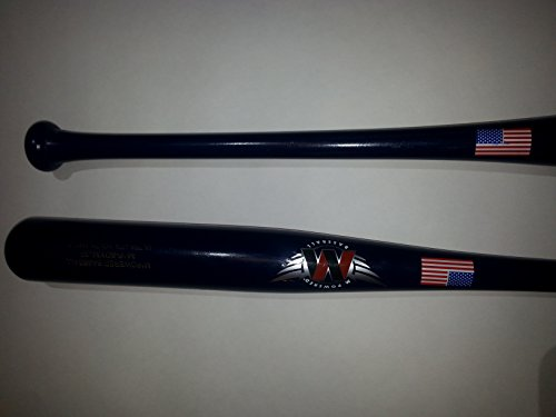 Mpowered Wood Baseball Northern Raw Ash Pro (Various Sizes) (Blue, 25 Inches)