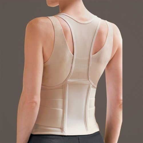 Cincher Female Back Support Large Tan