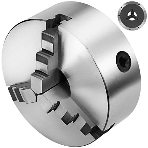 - Mophorn K11-200 Chuck 3-jaw 8''/200mm Lathe Chuck Self Centering Reversible Hardened Steel Lathe Chuck With Internal and External 2 Set Jaws (8''/200mm 3-jaw)
